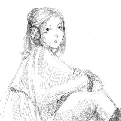 A quick sketch.Goodnight!