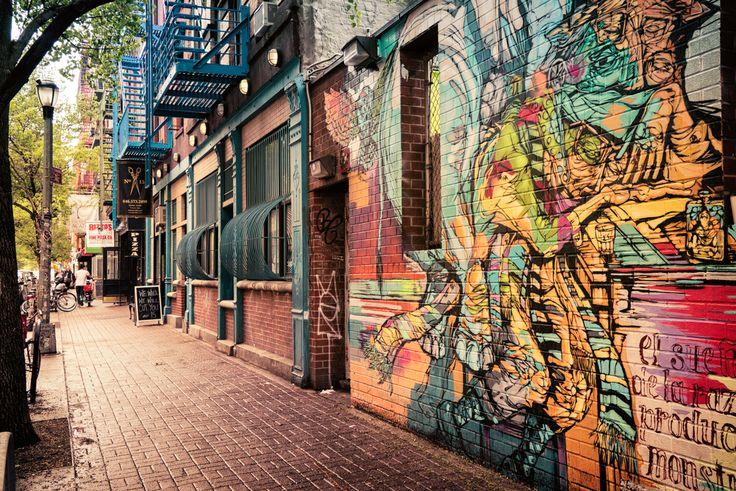 New York City - Street Art - Clinton Street - Lower East Side