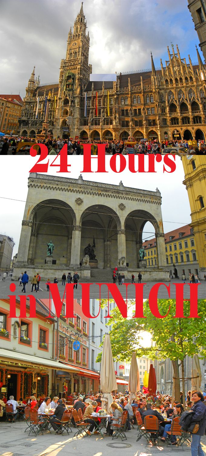 Things to do if you only have 24 hours in Munich: http://bbqboy.net/24-hours-in-munich-germany/ #munich #germany