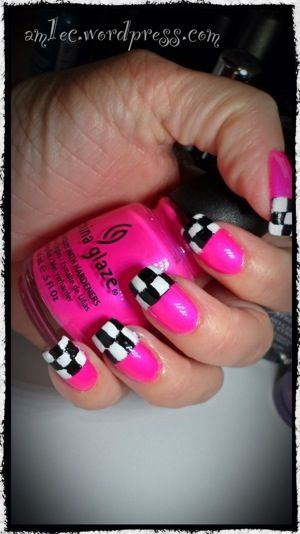 Flag Nails, Checkered Flag And Flags On Pinterest