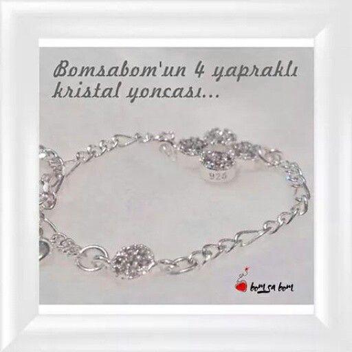 4 yapraklı yoncanız hep şans getirsin. İletişim için : nilden@bomsabom.com www.bomsabom.com