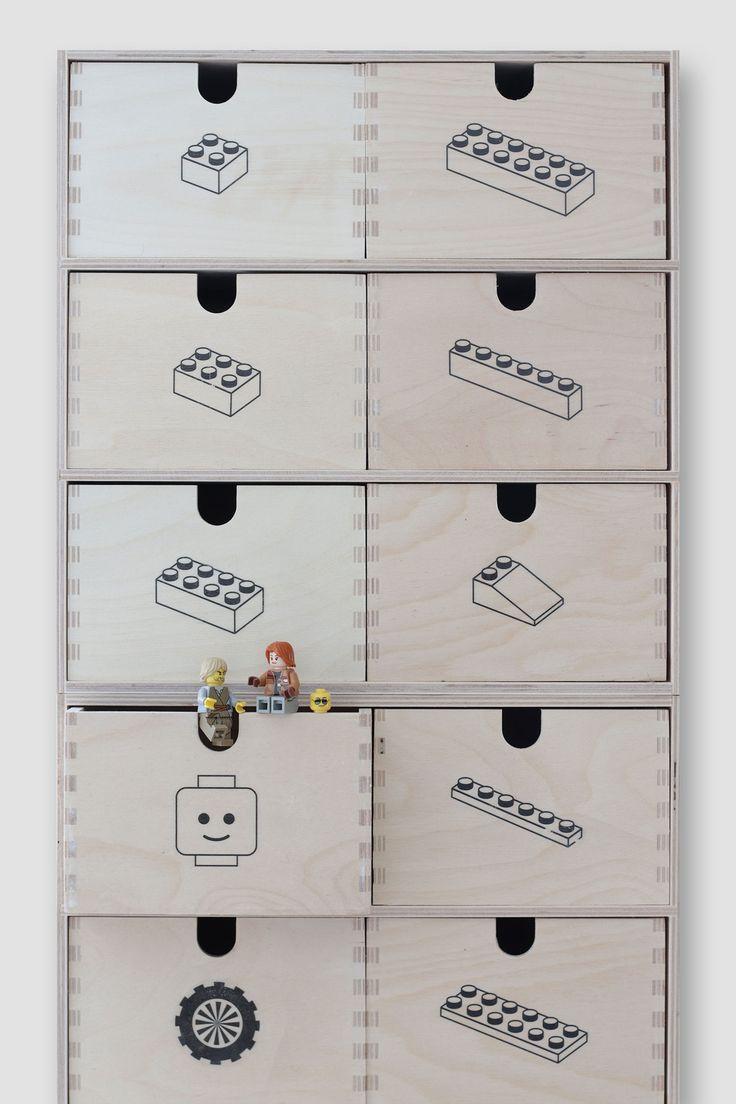 Ikea Moppe als LEGO Sortierbox