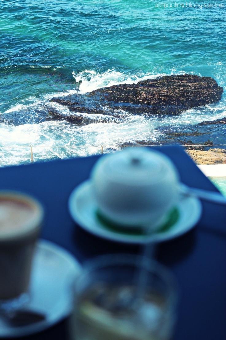 Chilling out at Bondi Beach