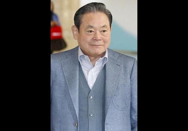 Lee Kun-hee, the chairman of Samsung Group and former member of the International Olympic Committee. He is on Forbes Magazine's List of The World's Most Powerful People.