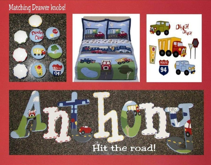 Cars With The Letter D >> Hit The Road Cars Trucks Hand Painted Custom by thefunkymonkey1 | Anthony | Pinterest | Baby ...