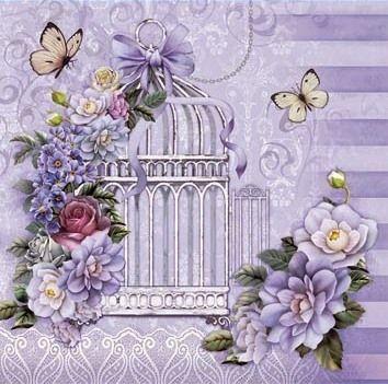 Decoman-a mariposas y flores