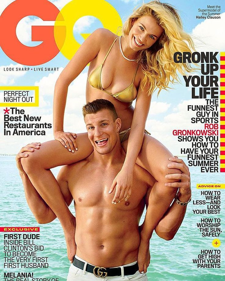 #Gronk crushing the GQ cover this month. #PatsNation #Patriots #FoxboroFaithful