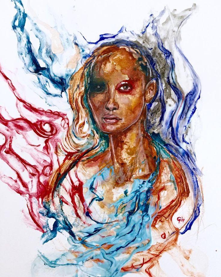 A4-Water-Soluble Colour Pencils (Dark12)#contemporaryart #art #drawing #art #artist #painting #exhibition #oilpainting #sanat #work #suluboya #figure #soyut #artgallery #arts #artwork #artlover #artstudio #colours #colour #watercolors #delightful #artgallery #artgaleri #soyutgaleri http://turkrazzi.com/ipost/1524421608022171764/?code=BUn1WAyF2B0