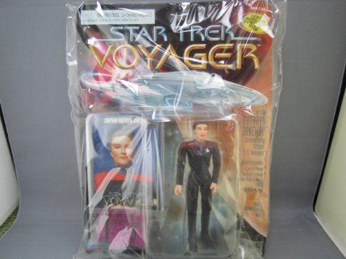 Out of print goods Star Trek Voyager Action Figures 5 inches ( Captain Kathryn Janeway ) @ niftywarehouse.com #NiftyWarehouse #StarTrek #Trekkie #Geek #Nerd #Products