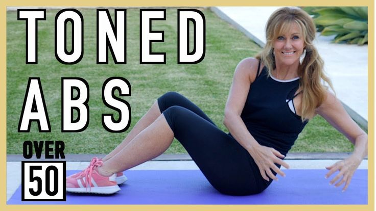 5 Min Toned Ab Workout For Women Over 50