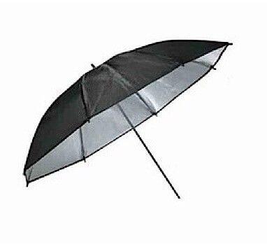 Studio Umbrella - Silver Reflective - 43 inch