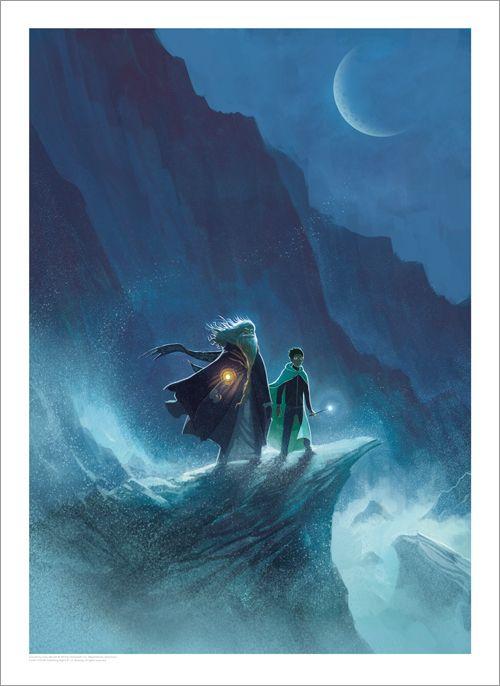 [Arte e Design] Arte das Capas Originais dos 7 Livros da Série Harry Potter | PopHD - Harry Potter and The Half Blood Prince >> veja mais em www.pophd.com.br