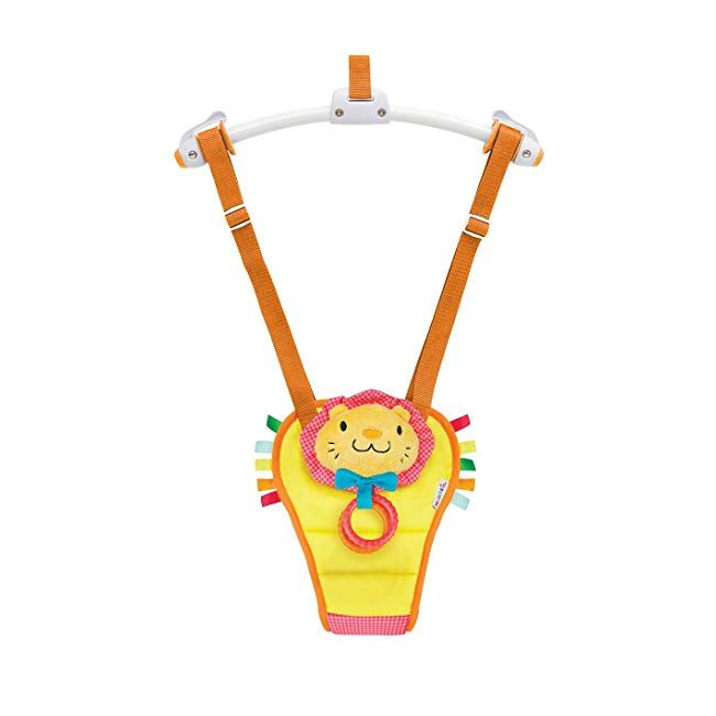 6d121d594 Munchkin Bounce and Play Baby Door Bouncer (Lenny the Lion)  baby ...