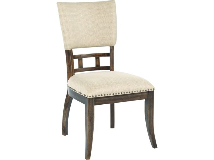 It's important that your dining chairs can stand up to whatever your family can throw at them- big adults, rowdy kids, or new pets. Most chairs will break at the joints with that kind of stress, but not these solid wood dining chairs. They are made with craftsman-quality construction methods, like finger jointed corners that are glued and screwed for strength and stability. This model provides the perfect compliment to your wood dining set with softly upholstered chairs in a neutral-toned...