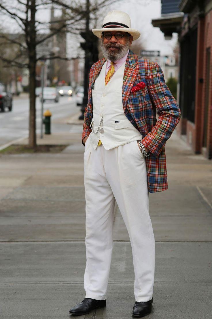 Ignacio Quiles...confidence is the best accessory a man can wear!
