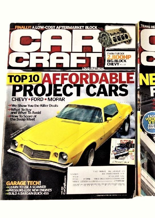 23 best automotive images on pinterest chevy hot rods for Car craft magazine back issues