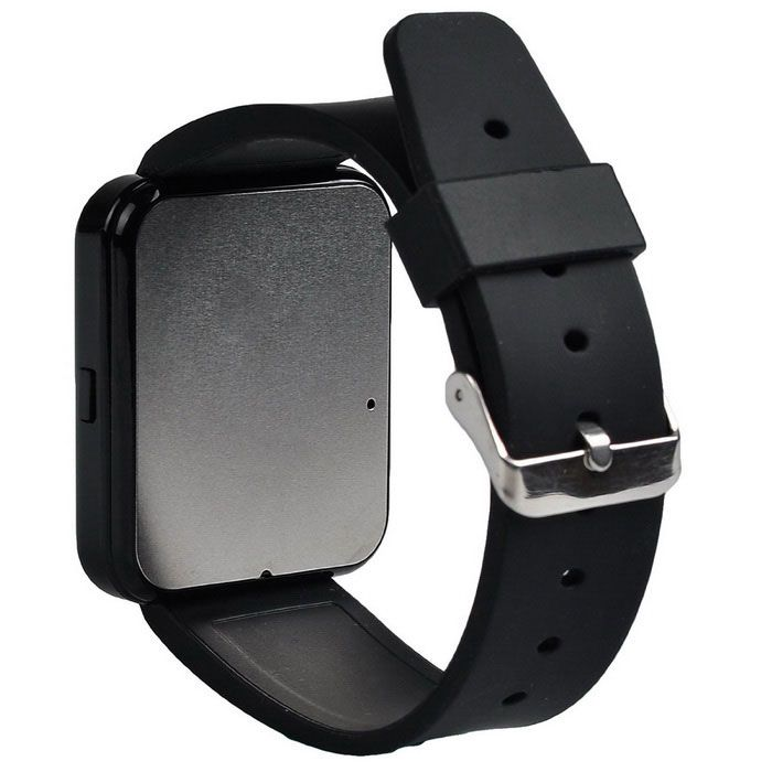 Bluetooth Smart Watch w/ Camera Touch Screen for Android OS Smartphone - Black