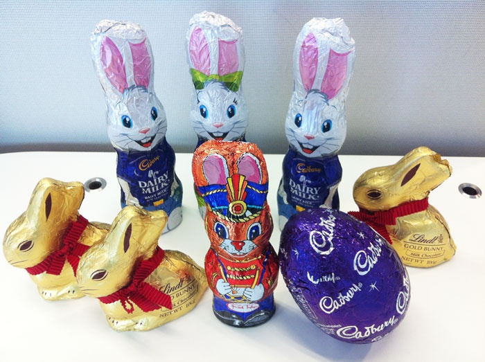 Healthcare Australia's Easter bunny family just keeps going...