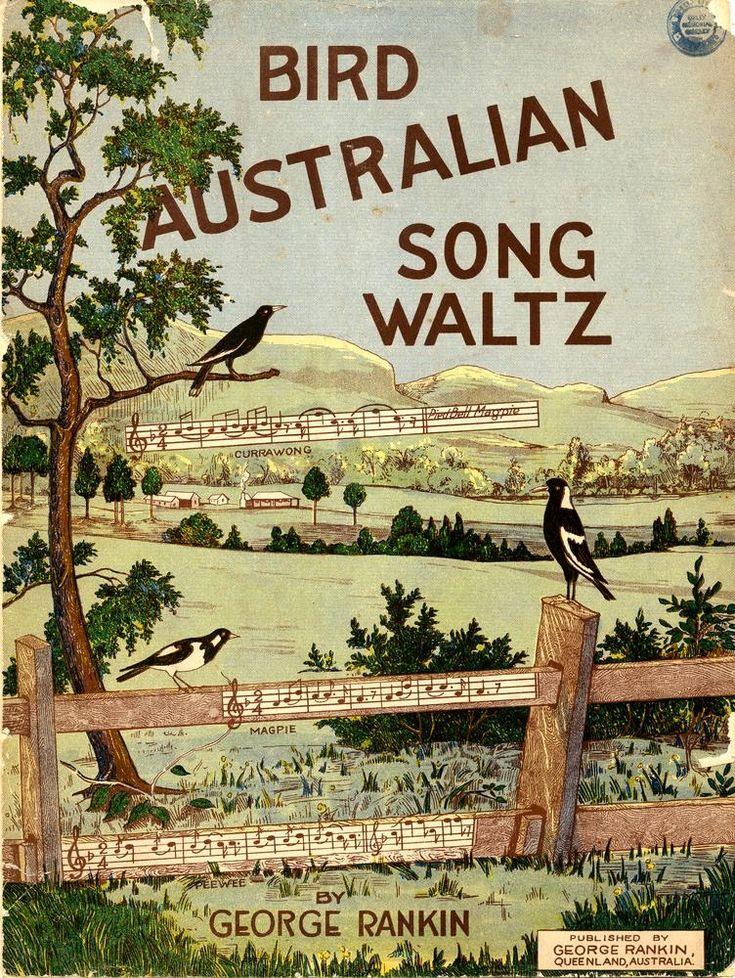 vintage Australian sheet music