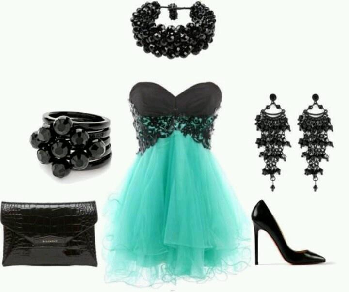 Mint & lace ;)