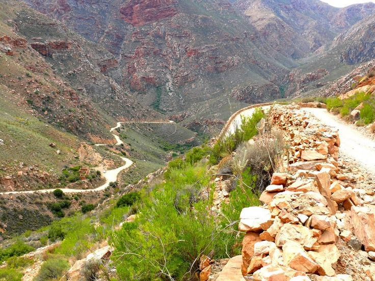 .... and we will trek over the Swartberg Pass - because we can - and he could'nt!