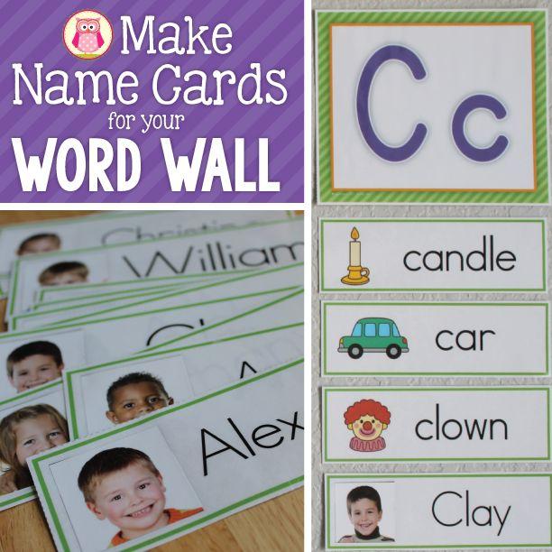 Word Wall Ideas For Preschool : Best ideas about classroom word wall on