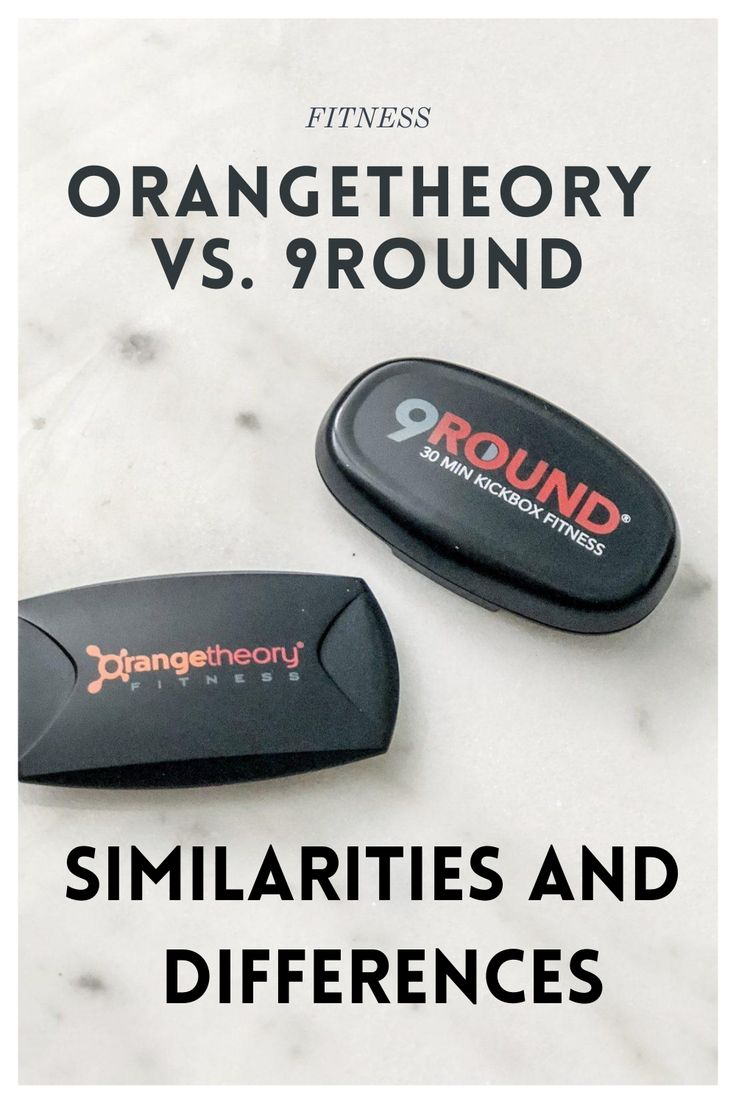 9round Versus Orangetheory Similarities And Differences Orange Theory Workout Similarities And Differences Workout Regimen