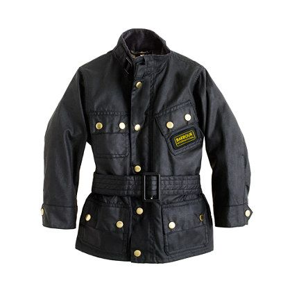 ZOMG Baby Barbour!!!! Boys' Barbour® International jacket