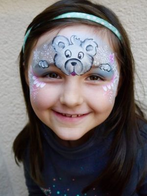 Christmas Face Painting Pictures