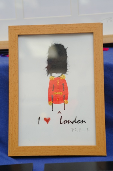 Origin card and Images, Greenwich Market trader