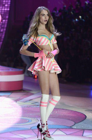 Cara Delevigne- Victoria's Secret Fashion Show 2012