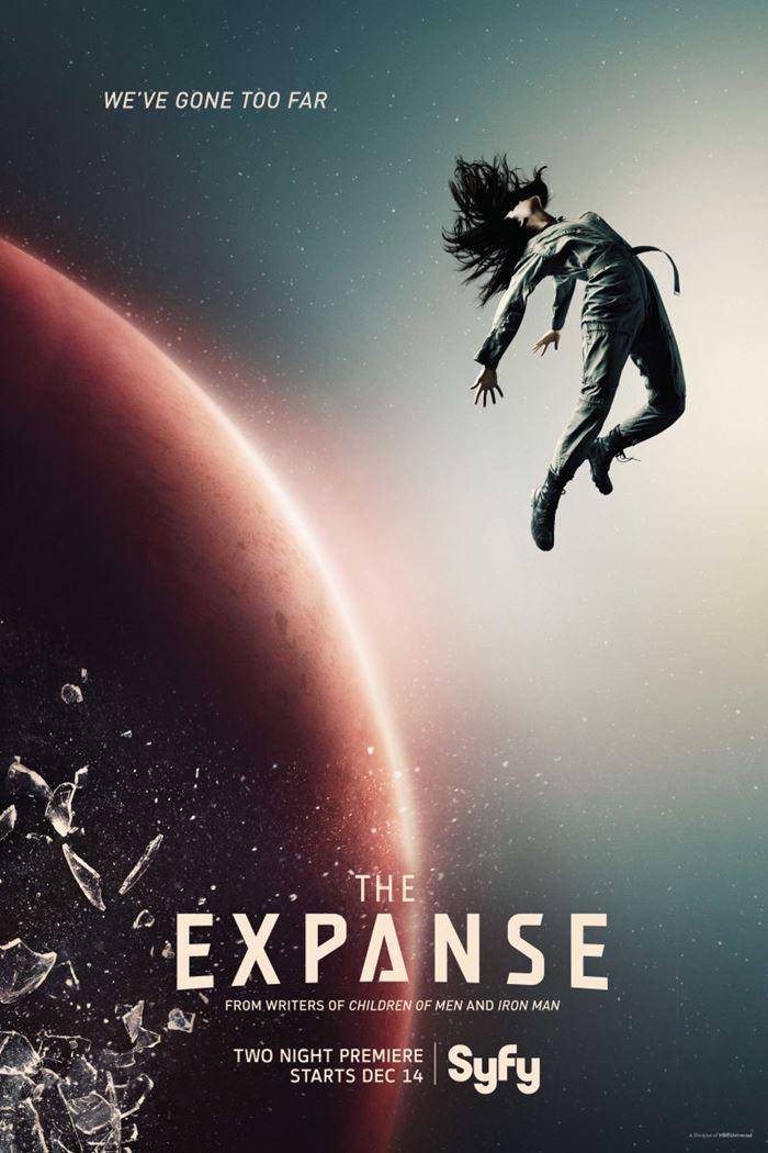 Bildergebnis für the expanse plakat netflix