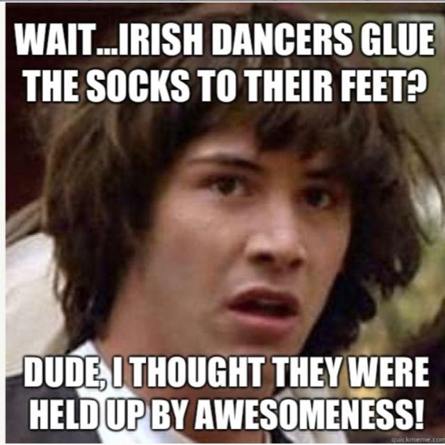 Irish dance humor