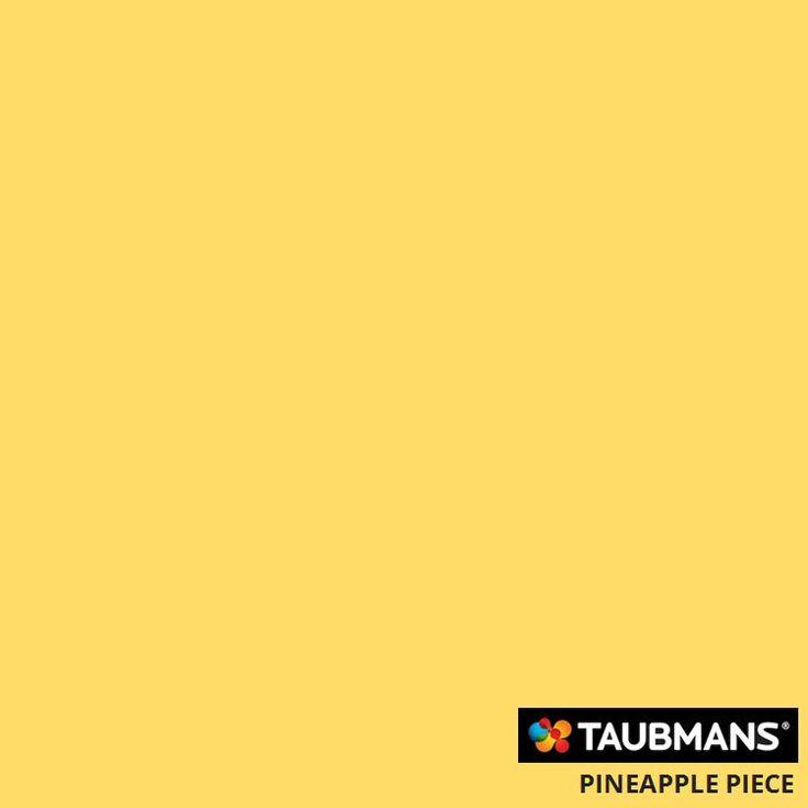 #Taubmanscolour #pineapplepiece