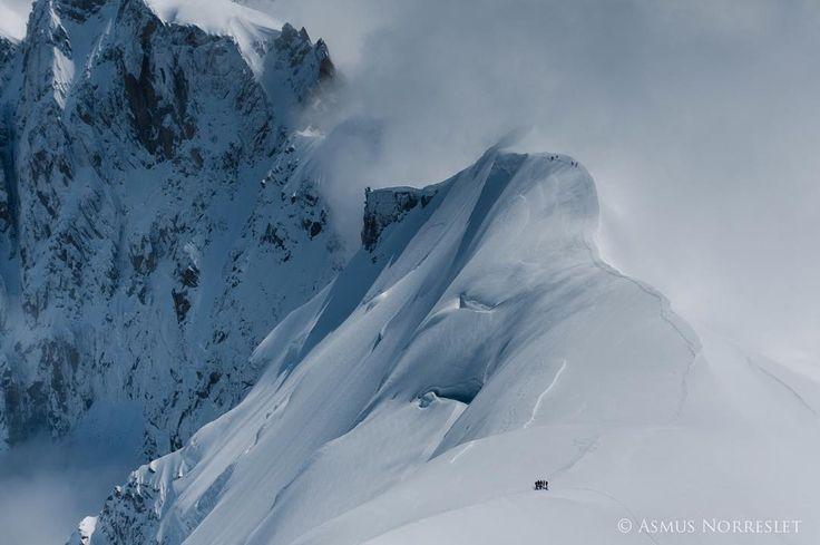 @ chamasmus Instagram....beautiful snowy mountain ridge!