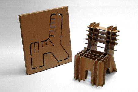 Home Gadgets - DIY Cardboard Chair Designs