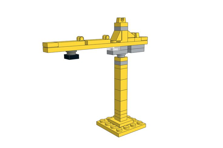 Download the LEGO Tower Crane MOC on our website for free!
