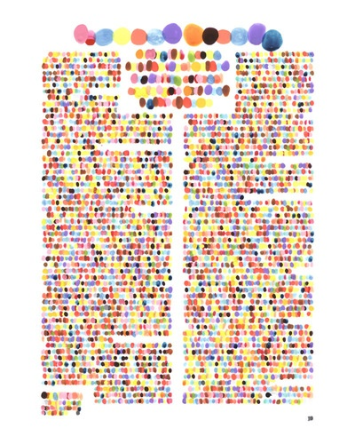 such a good idea: Colors, Art, Jul07 Pg145 Ripeness, Illustration, Lauren Dicioccio, Design, Drawing, Dot, Vogue Jul07 Pg145