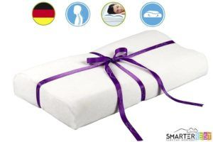 Best Pillow for Neck Pain Memory Form Pillow from Smarter Rest best Pillow for neck pain