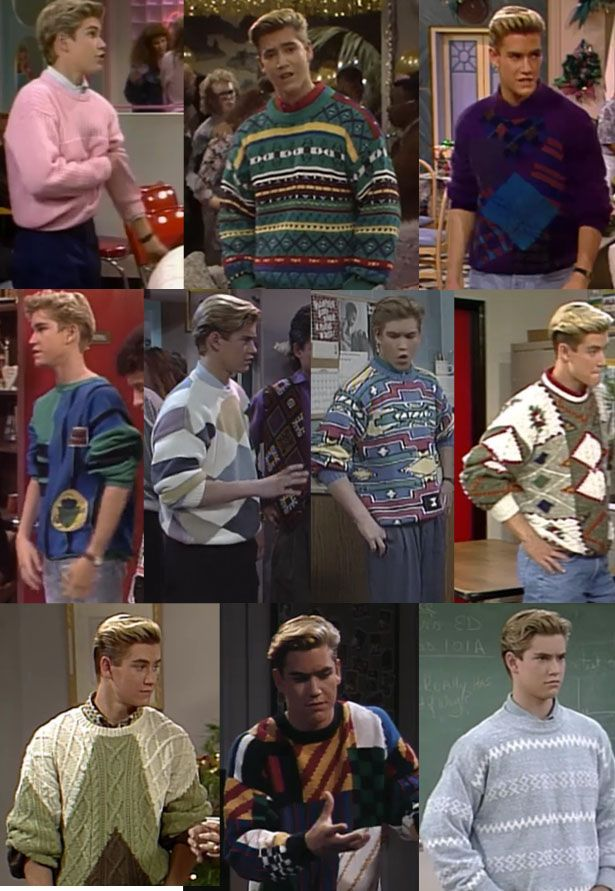 "The Ultimate Guide To ""Saved By The Bell"" Fashion: Come along on a beautiful light-wash-denim journey."