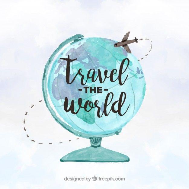 Viagem Ao Redor Do Conceito Do Mundo