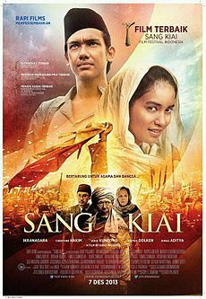 """Click """"Visit"""" button for watching Sang Kiai (2013) streaming movie online at Layar Perak, the best streaming movie online for free and forever"""