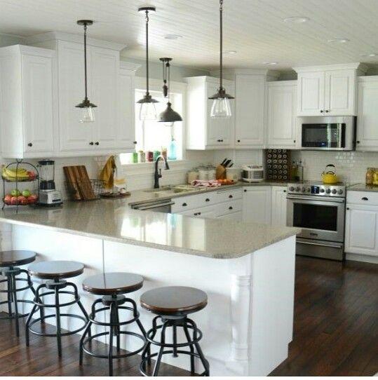 Airy kitchen.