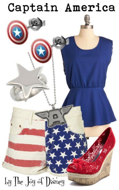 Inspired by Captain America from Marvel The Avengers