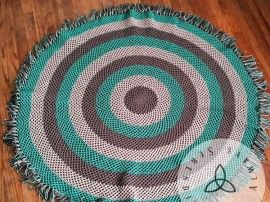 Free Crochet Rug Patterns Australia : The 414 best images about Crochet Rugs on Pinterest Free ...