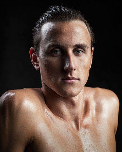 Olympic swimmers Cameron McEvoy Mitch Larkin Mack Horton