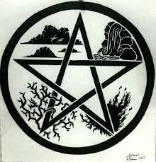 Resultado de imagem para pentagram tattoo