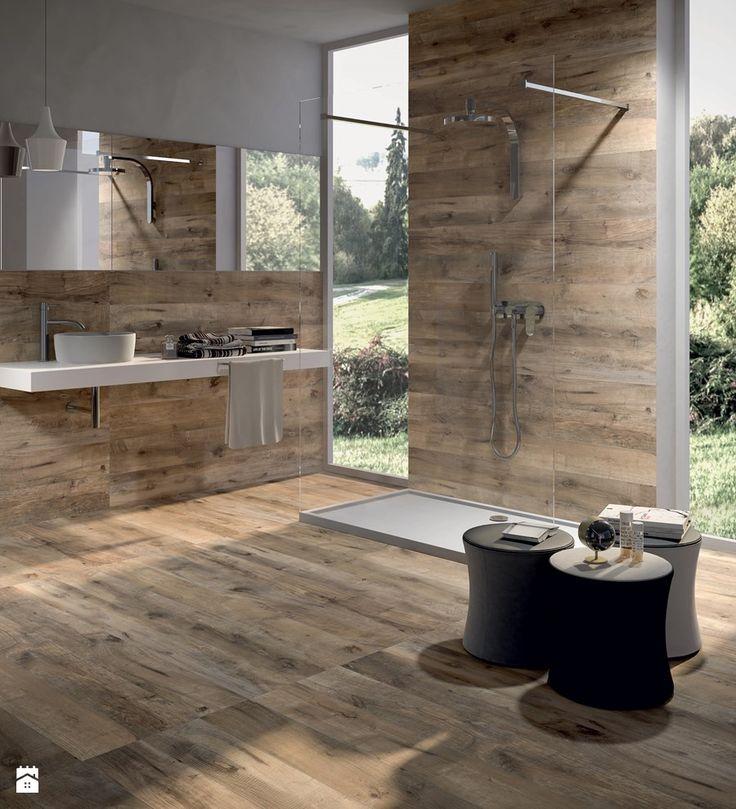 Łazienka drewniana Flaviker Dakota Avana - zdjęcie od terrano.pl