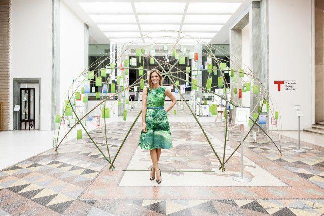 #scarpe #Greymer ai piedi di Filippa Lagerbäck durante le premiazioni dei Sette Green Awards - Triennale di Milano. www.greymer.it
