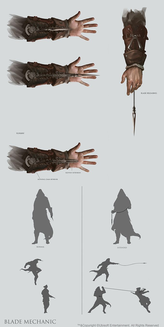 Concept Art World » Assassin's Creed III Concept Art by William Wu